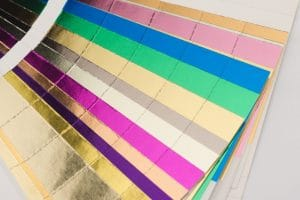 Colored paper adds luxury to printed marketing materials