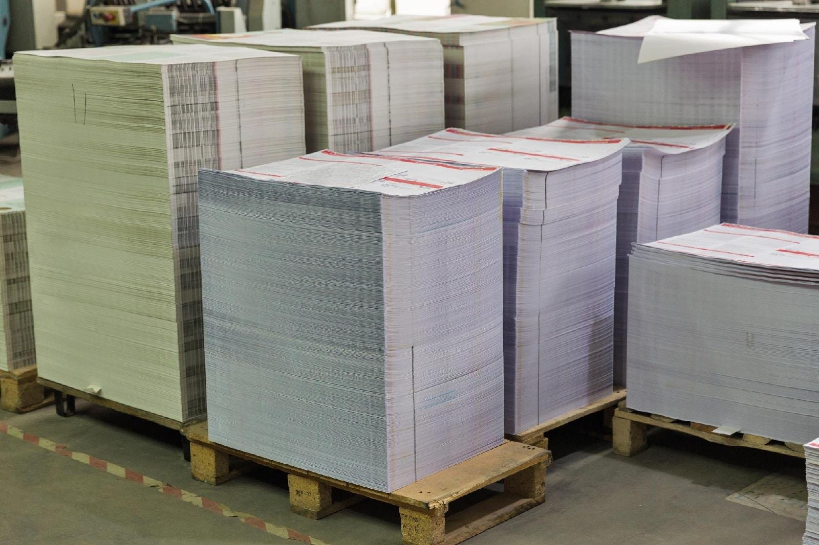 digital printing pallets at print shop