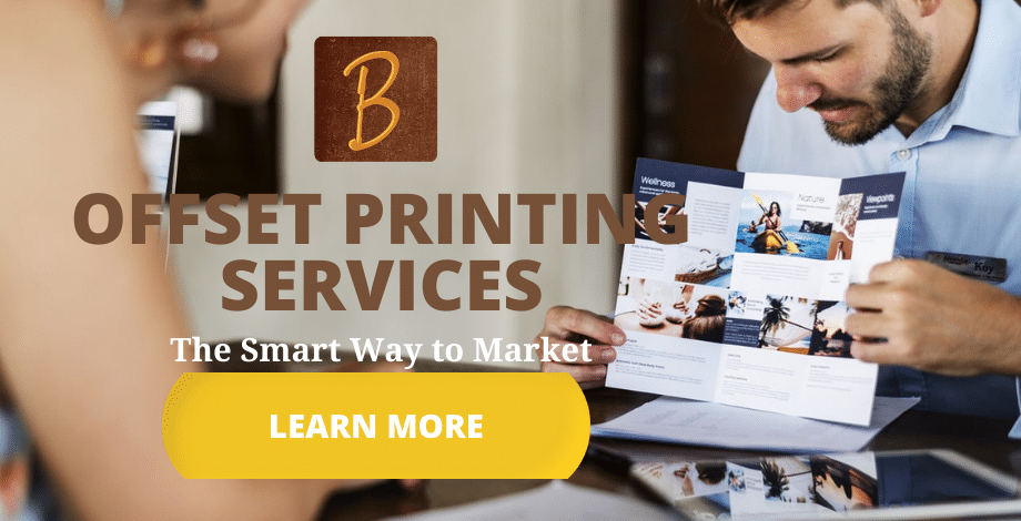 Offset Printing Services at Brumley Printing
