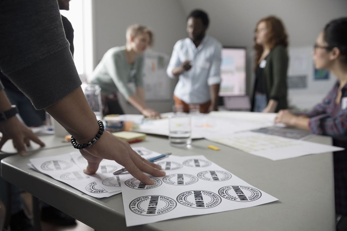 Printing process, graphic design