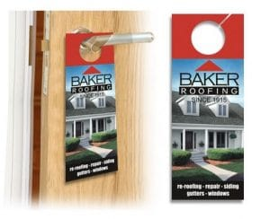 Personalized Door Hanger at Brumley Printing
