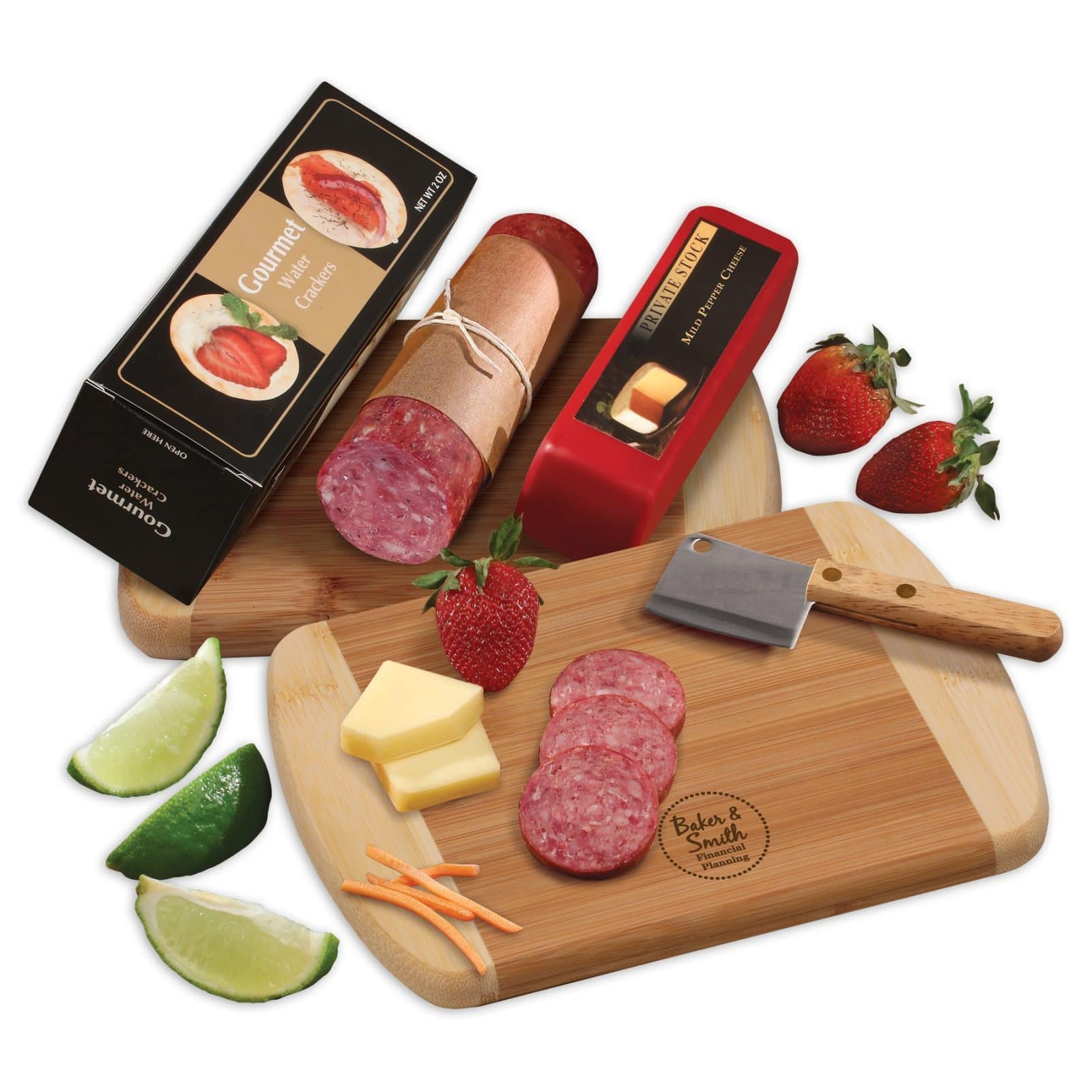 company holiday gifts charcuterie
