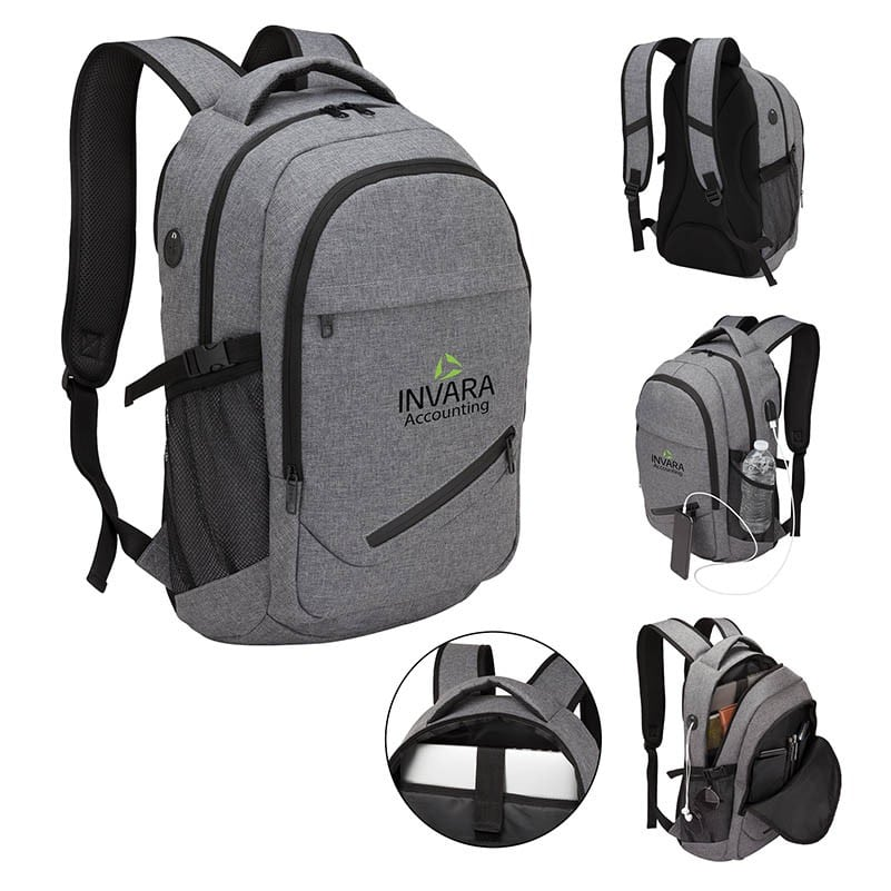 company holiday gifts backpack