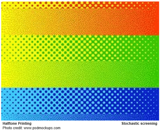 stochastic printing color example